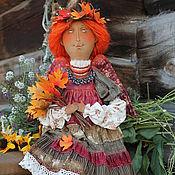 Куклы и игрушки ручной работы. Ярмарка Мастеров - ручная работа Красавица Осень. Handmade.