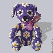 Куклы и игрушки ручной работы. Ярмарка Мастеров - ручная работа Собачка Ромашка. Handmade.