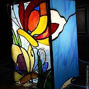 """Для дома и интерьера ручной работы. Ярмарка Мастеров - ручная работа Светильник """" Две бабочки"""". Handmade."""