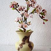 Цветы и флористика ручной работы. Ярмарка Мастеров - ручная работа Ах, сакура, любви весенний цвет.... Handmade.