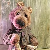 Куклы и игрушки ручной работы. Ярмарка Мастеров - ручная работа Медведь   с авоськой. Handmade.