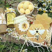 Косметика ручной работы handmade. Livemaster - original item Set of cosmetics Love honey. Handmade.