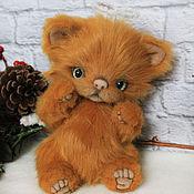 Куклы и игрушки handmade. Livemaster - original item Ginger kitten angel. Handmade.