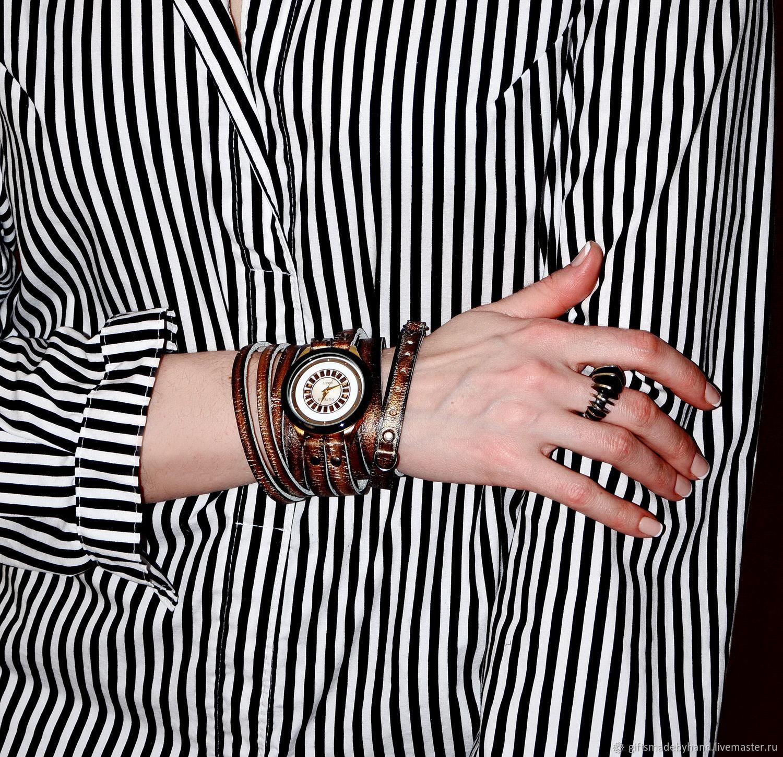 da78fc7268da Наручные часы ручной работы. Ярмарка Мастеров - ручная работа. Купить  Наручные часы - Стимпанк ...