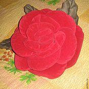 Для дома и интерьера ручной работы. Ярмарка Мастеров - ручная работа подушка - роза Прелесть. Handmade.