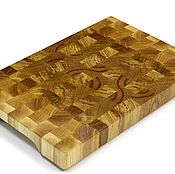 Для дома и интерьера handmade. Livemaster - original item End cutting Board №114. Handmade.