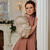 "Одежда ручной работы. Ярмарка Мастеров - ручная работа Пальто""Аmethyst Princess"". Handmade."
