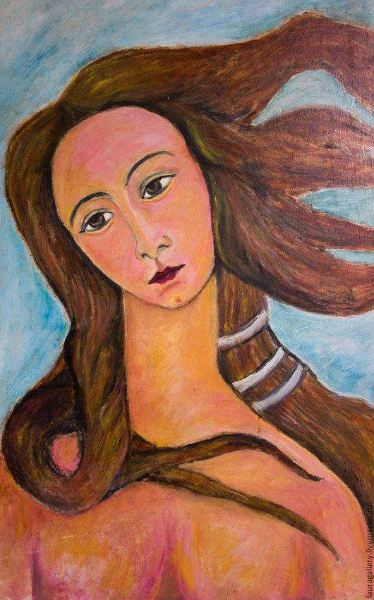 """Люди, ручной работы. Ярмарка Мастеров - ручная работа. Купить Симонетта Веспуччи с картины """"Рождение Венеры"""". Handmade. Симонетта веспуччи"""