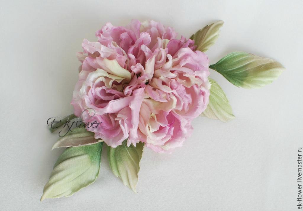 Fabric flowers silk flowers rose veronica shop online on rose flowers handmade fabric flowers silk flowers rose veronica mightylinksfo