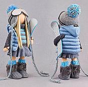 """Куклы и игрушки ручной работы. Ярмарка Мастеров - ручная работа """"СНЕЖНЫЕ  РАДОСТИ"""". Handmade."""
