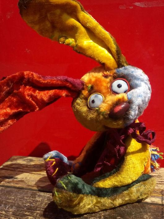 Мишки Тедди ручной работы. Ярмарка Мастеров - ручная работа. Купить Радужный заяц. Handmade. Комбинированный, зайка игрушка, синтепух
