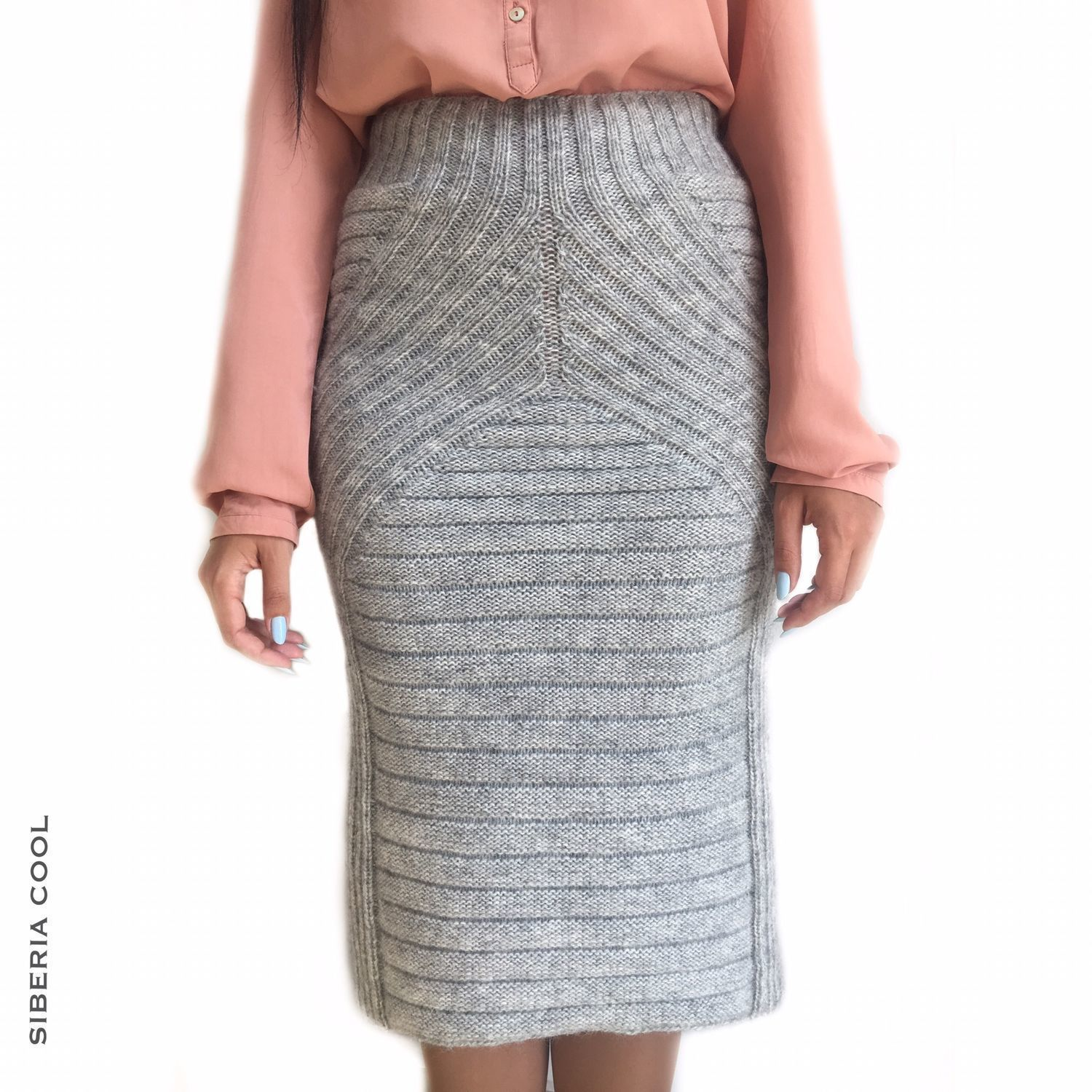 Women's skirt Rita R. 42-44 (XS-S) with wool warm for winter, Skirts, Voronezh,  Фото №1