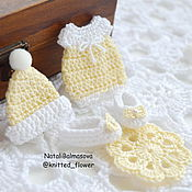 Материалы для творчества handmade. Livemaster - original item Set the Baby in the presence of 4 decor for scrap. Handmade.
