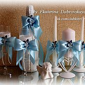 """Свадебный салон ручной работы. Ярмарка Мастеров - ручная работа Свадебный набор """"Elegans"""". Handmade."""