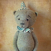 Куклы и игрушки handmade. Livemaster - original item Bear Clown Quick. Handmade.