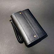 Сумки и аксессуары handmade. Livemaster - original item Clutch, purse, № 3, classic black. large purse. Handmade.