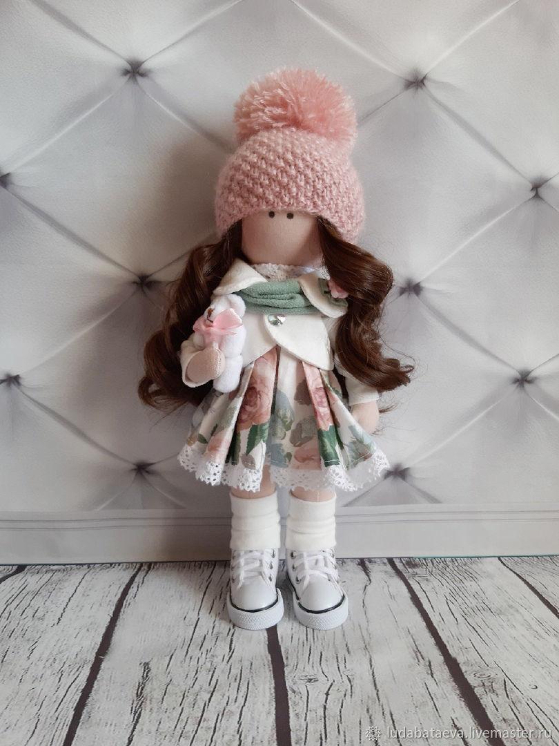 Кукла текстильная интерьерная ручной работы Кристина, Куклы и пупсы, Чайковский,  Фото №1