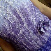 """Одежда ручной работы. Ярмарка Мастеров - ручная работа """"Оттенки лилового"""". Handmade."""