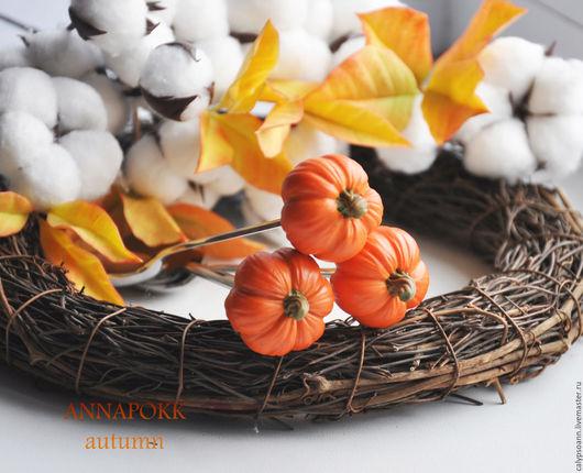 Ложки ручной работы. Ярмарка Мастеров - ручная работа. Купить Осенние ложки. Handmade. Рыжий, сладкие ложки, подарок, тыквочки