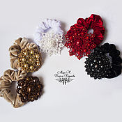 Украшения handmade. Livemaster - original item Hair bands with decoration, hairstyles for tatting e. Handmade.