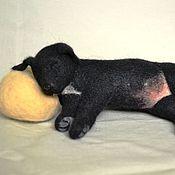 """Куклы и игрушки ручной работы. Ярмарка Мастеров - ручная работа Волочная игрушка """"Сладкий сон"""". Handmade."""