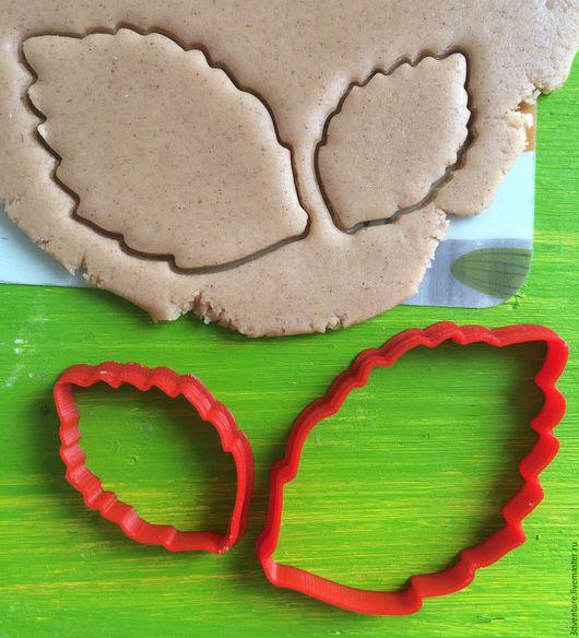 Кухня ручной работы. Ярмарка Мастеров - ручная работа. Купить Форма для печенья Листья (Набор 2 штуки). Handmade. Разноцветный