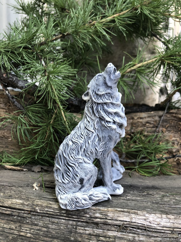 Волк воет, Статуэтка, Первоуральск,  Фото №1