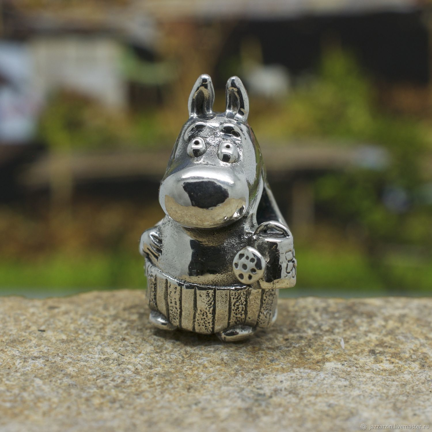 All for Jewelry Making handmade. Livemaster - handmade. Buy Moominmamma charm.Charm, moominmamma