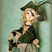 Куклы и игрушки ручной работы. Ярмарка Мастеров - ручная работа Маленькая Пиратка. Handmade.
