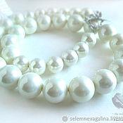 Украшения handmade. Livemaster - original item Necklace - necklace of large pearls Mallorca. Handmade.