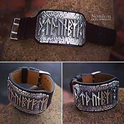 Украшения handmade. Livemaster - original item Bracelet with protective runic stakes. Handmade.