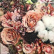 Картины и панно handmade. Livemaster - original item Oil painting Autumn kiss 100h100 cm. Handmade.