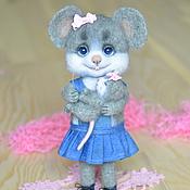 Куклы и игрушки ручной работы. Ярмарка Мастеров - ручная работа Мама мышка и малышка!. Handmade.