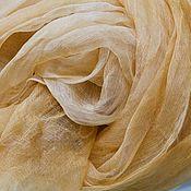 """Аксессуары ручной работы. Ярмарка Мастеров - ручная работа Шелковый шарф батик  """"Вуаль"""", батик, шелк, органза, недорого. Handmade."""