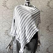 Одежда handmade. Livemaster - original item Copy of Cotton poncho. Handmade.