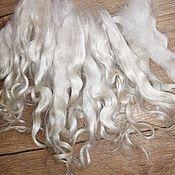 handmade. Livemaster - original item Hair for dolls: The locks of Angora ( 10-12 cm). Handmade.