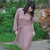 Одежда handmade. Livemaster - original item Mohair dress knitted