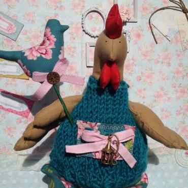 """Куклы и игрушки ручной работы. Ярмарка Мастеров - ручная работа Петушок """"Tilda"""". Handmade."""