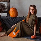 """Одежда ручной работы. Ярмарка Мастеров - ручная работа платье оверзайз """"Мазай"""". Handmade."""