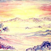 Картины и панно ручной работы. Ярмарка Мастеров - ручная работа Пустыня. Handmade.