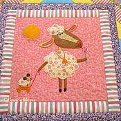 Для дома и интерьера ручной работы. Ярмарка Мастеров - ручная работа Детское лоскутное одеяло  СЛАСТЕНА 1 одеяло покрывало  лоскутное детск. Handmade.