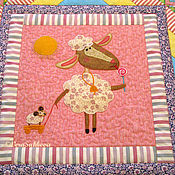 Для дома и интерьера handmade. Livemaster - original item Baby quilt sweet TOOTH 1 blanket bedspread patchwork detsk. Handmade.