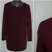 """Одежда ручной работы. Ярмарка Мастеров - ручная работа Платье-свитер """"Бордо"""". Handmade."""
