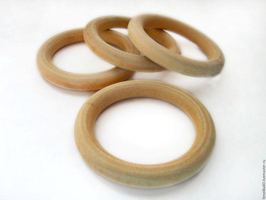 Для украшений ручной работы. Ярмарка Мастеров - ручная работа. Купить Кольцо 67 мм из березы. Handmade. Кольца, колечки