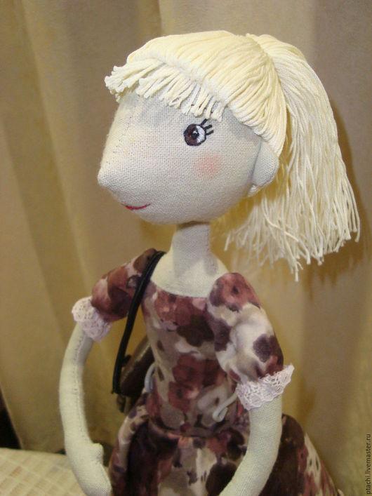 Куклы тыквоголовки ручной работы. Ярмарка Мастеров - ручная работа. Купить Кукла Варвара. Handmade. Кукла ручной работы, подарки