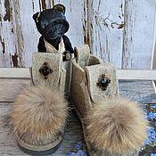 """Обувь ручной работы. Ярмарка Мастеров - ручная работа Валеши """"Винтаж"""". Handmade."""