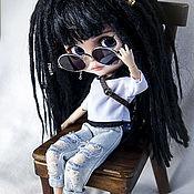 Куклы и игрушки handmade. Livemaster - original item Blythe doll with dreads. Handmade.