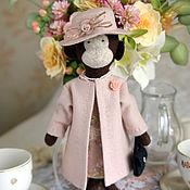 Куклы и игрушки ручной работы. Ярмарка Мастеров - ручная работа Матильда или Розовое чаепитие.. Handmade.
