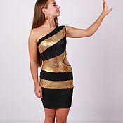 """Одежда ручной работы. Ярмарка Мастеров - ручная работа Клубное платье """"Золотая пантера"""". Handmade."""