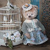 Куклы и игрушки ручной работы. Ярмарка Мастеров - ручная работа Мишка тедди Маруся. Handmade.